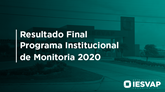 Resultado Final - Monitoria 2020.1 IESVAP